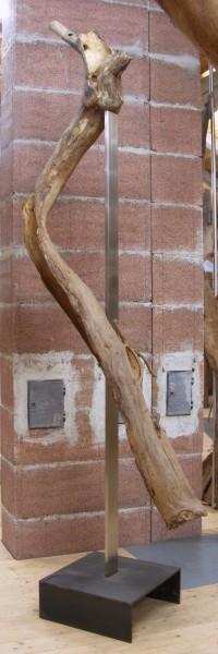 "Holzskulptur ""Schwebende Form"" / SKUL 182"