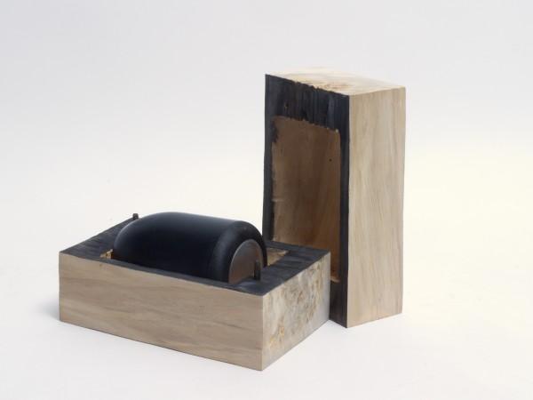 Schmuckurne aus Pappelholz, Urne Zy 106