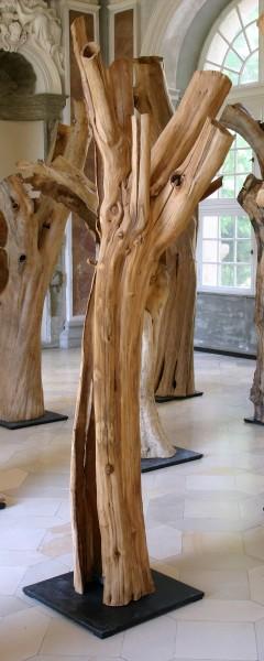 "Holzskulptur ""Obstgarten, Offene Gestalt II"" / SKUL 090-07"