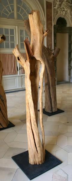 """Holzskulptur """"Obstgarten, Offene Gestalt I"""" / SKUL 090-03"""