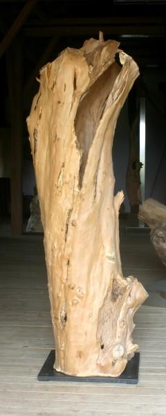 """Holzskulptur """"Obstgarten, offene Form"""" / SKUL 090-36"""