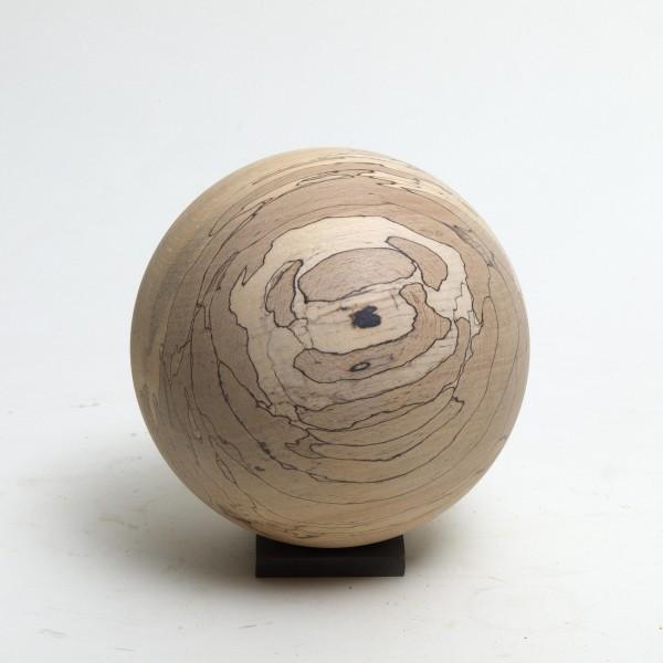 Holzkugel Buche, gestockt, P004
