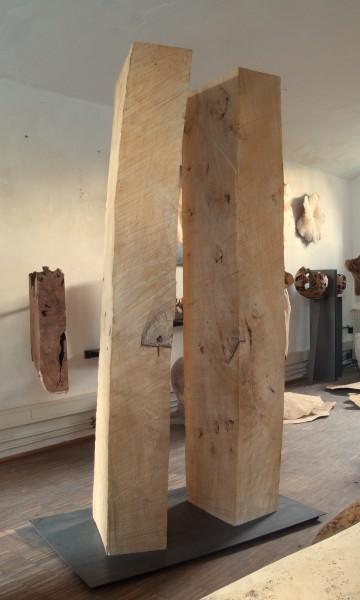 """Geometrische Form """"Zwei kubische Körper"""" SKUL 194"""