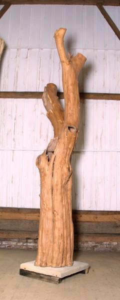 "Holzskulptur ""Obstgarten, sich teilende Form"" / SKUL 090-49"