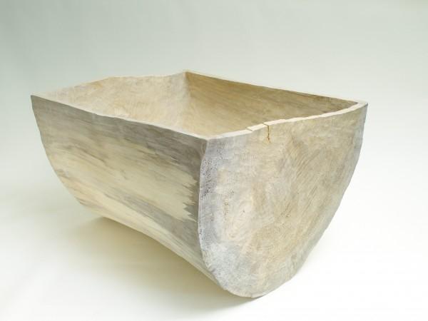 """Skulptur """"Gefäß-Form, Halber Zylinder, liegend"""", SKUL 241-1"""