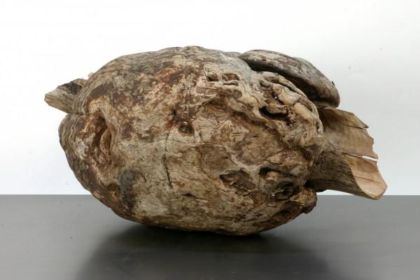 """Holzskulptur """"Umschließende, ausfließende Form"""", SKUL 168"""
