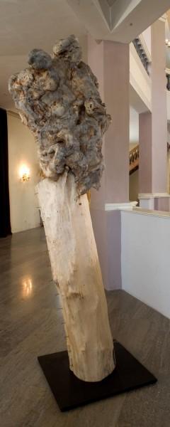 "Skulptur ""Genähter Körper mit Wucherung"", SKUL 146"
