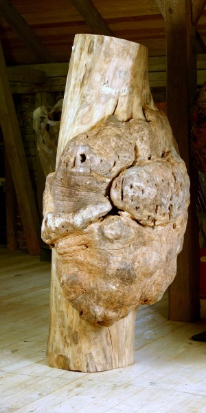 """Baumskulptur """"Körper mit Umwallung 2"""" / SKUL 126-2"""