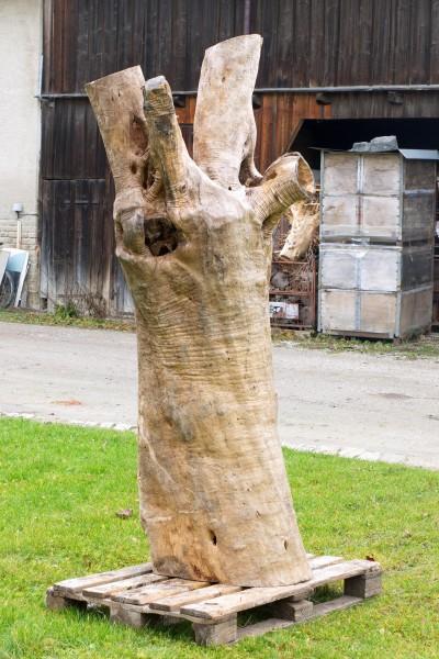"""Holzskulptur """"Olivenhain V"""" / SKUL 123-5"""