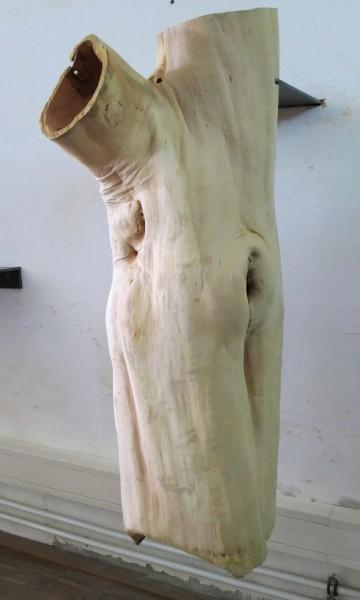 """Baumskulptur """"Hängender Körperstumpf"""" SKUL 226-2"""