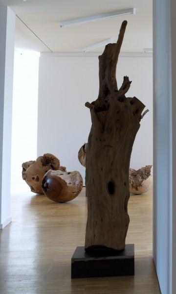 """Holzskulptur """"Olivenhain III"""" / SKUL 123-3"""
