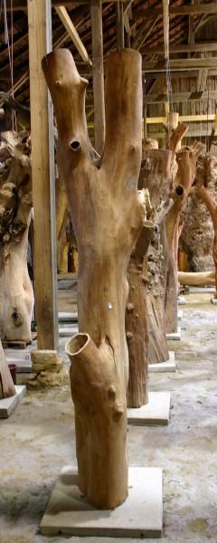 """Holzskulptur """"Obstgarten, fast steife Form"""" / SKUL 090-19"""