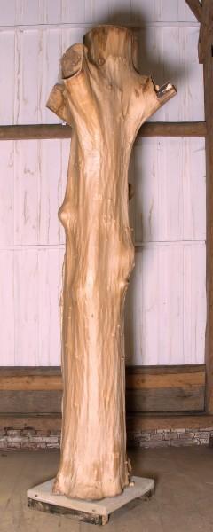 "Holzskulptur ""Obstgarten, hochragende Form"" / SKUL 090-55"