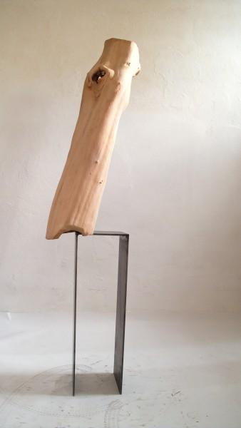 """Holzskulptur """"Leichtes Gewicht"""" SKUL 222-2"""