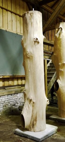 """Baumskulptur SKUL 107-17 """"cum tacent clamant (indem sie schweigen, schreien sie)"""""""