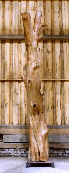"""Holzskulptur """"Obstgarten, schlanke, muskulöse Form"""" / SKUL 090-53"""