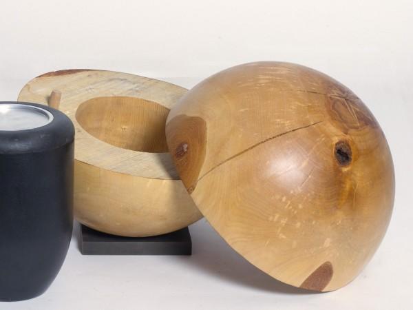 Holzurne aus Birke K 159