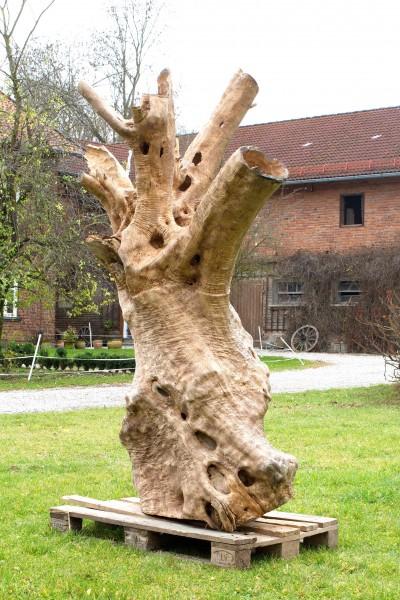 """Holzskulptur """"Olivenhain IV"""" / SKUL 123-4"""