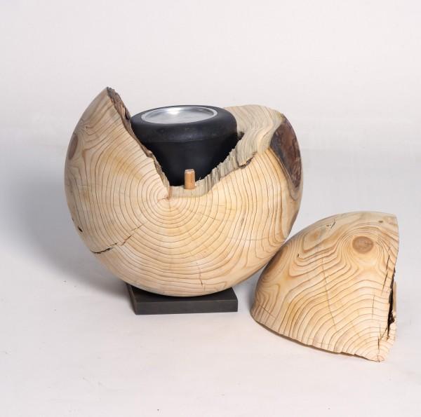Holzurne aus Fichtenholz | Unikate Urnen Skulpturen aus ...