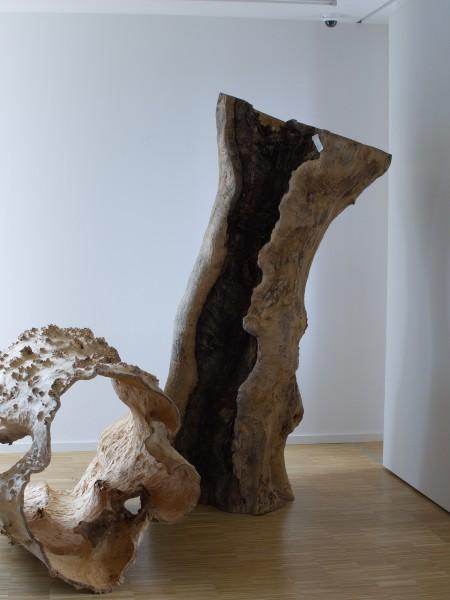 "Holzskulptur ""Verwundete Form"" SKUL 170"