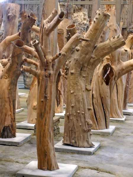 """Holzskulptur """"Obstgarten, vielgestaltig"""" / SKUL 090-04"""