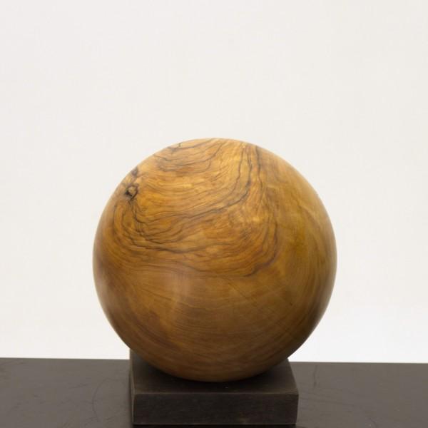 Holzkugel aus Olivenholz P 050