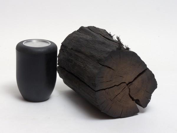 Holzurne aus Mooreiche Urne B 136