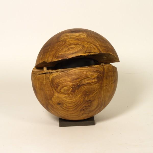Holzurne aus Ulme K 173