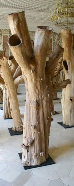 """Holzskulptur """"Obstgarten, vielgestaltiger Körper"""" / SKUL 090-15"""