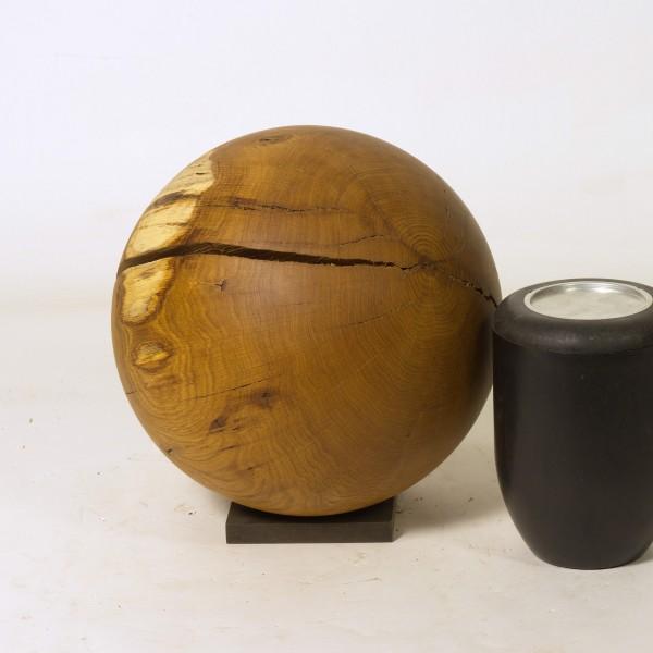 Urne aus einheimischem Eichenholz, Urne K 169